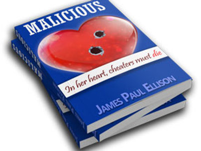 Autographed Book - Malicious
