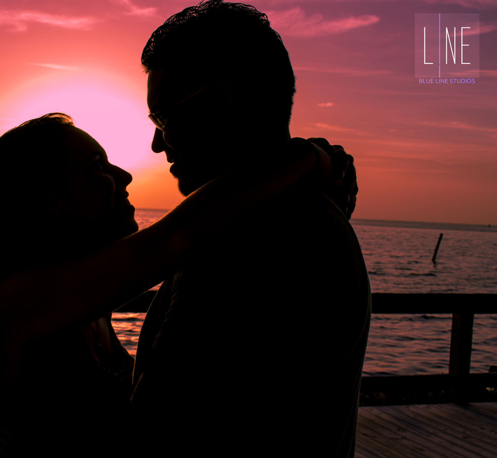 Engagement Photography Silhouette