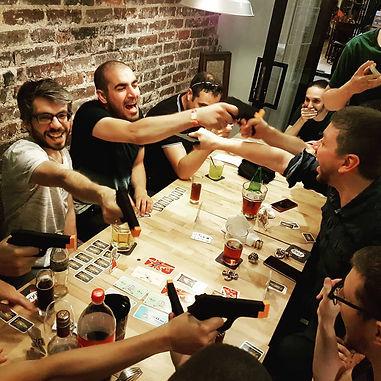 jeu de société bar ambiance paris