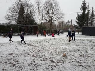 Sneeuwpret op 't Goor