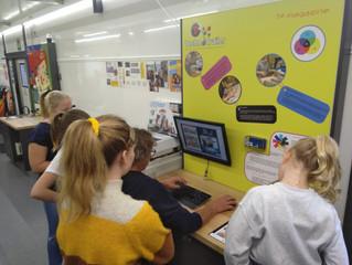 De Technotrailer op bezoek in onze school
