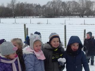 Winterpret op 't Goortje