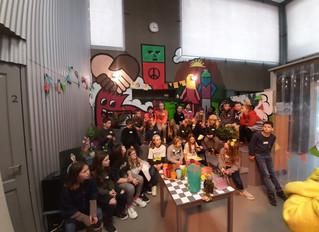 Bezoek aan Studio Globo