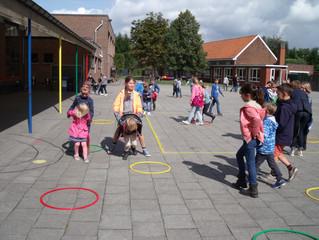GOK-activiteit: 4-jarige kleuters met 3de leerjaar