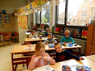 Kleuters voor het eerst in het eerste leerjaar
