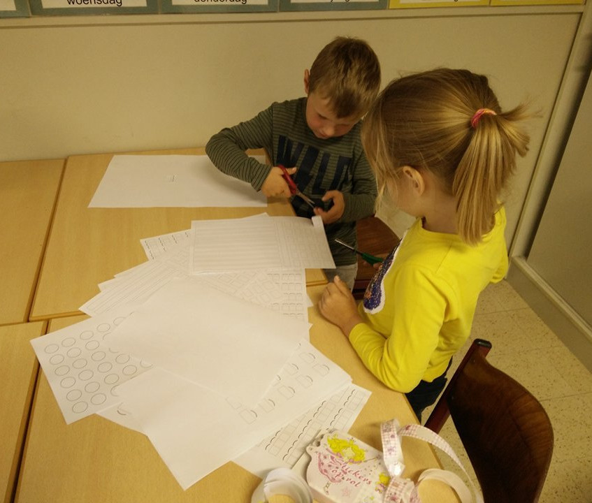 maquette van onze klas 5