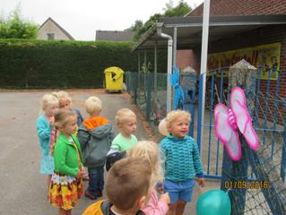 Onze eerste schooldag op 't Goortje