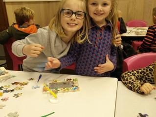 GOK-project: knutselactiviteit met onze mete- en petekindjes!