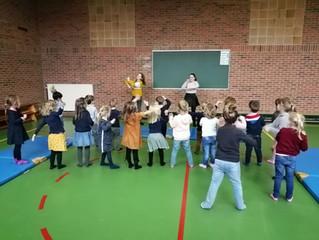 Voorbereiding dans Sinterklaas