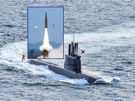 ประสบความสำเร็จ! เรือดำน้ำเกาหลีใต้ทำการยิงขีปนาวุธจากใต้น้ำได้แล้ว