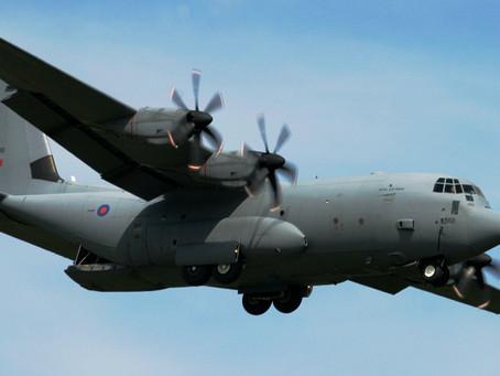 กองทัพอากาศบังกลาเทศเตรียมรับมอบเครื่องบิน C-130J จากกองทัพอังกฤษครบ 5 ลำภายในสิ้นปีนี้