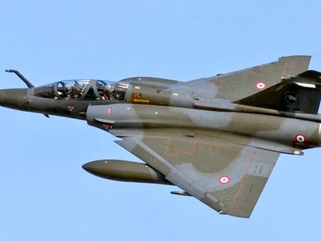 Mirage 2000D หายใกล้ชายแดนฝรั่งเศส / สวิส  เร่งค้นหานักบิน