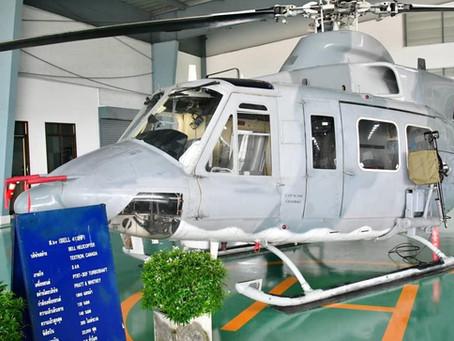 กองทัพอากาศทำพิธีปลดประจำการเฮลิคอปเตอร์ Bell-412 และ Bell-412HP