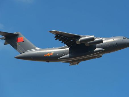 มาเลเซียตรวจพบเครื่องบินกองทัพจีน รุกล้ำน่านฟ้า จำนวน 16 ลำ