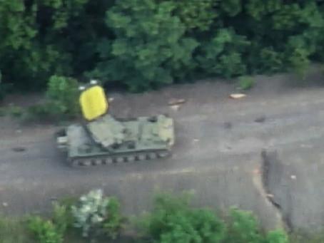 ยูเครนค้นพบและทำลายเรดาร์ counter-battery radar ของกองกำลังฝักใฝ่รัสเซีย