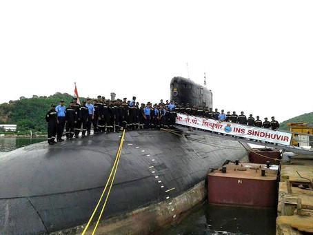 อินเดียอาจจะส่งมอบเรือดำน้ำชั้นKilo ให้พม่า