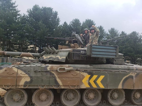 สหรัฐฯได้โอกาสทดสอบรถถัง T-80U