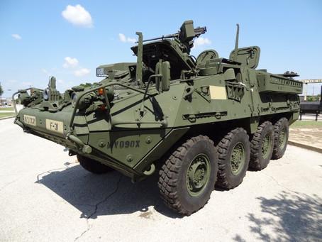 กองทัพบกไทยจัดหายานเกราะ M1126 Stryker