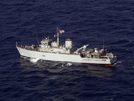 อังกฤษขายเรือกวาดทุ่นระเบิดให้ลิทัวเนีย
