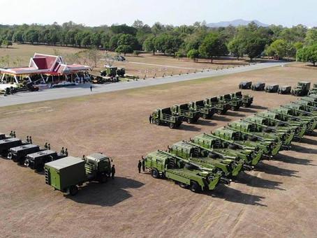 กองทัพบกรับมอบปืนใหญ่และเครื่องยิงลูกระเบิดอัตตาจรพัฒนาในไทยแล้ว