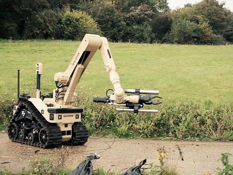 อังกฤษดำเนินการสั่งซื้อหุ่นยนต์เก็บกู้วัตถุระเบิดจากบริษัท L3Harris