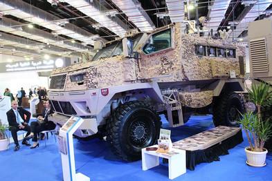อียิปต์อาจขายยานเกราะ ST-100 MRAP ให้ UAE