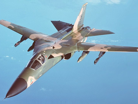 F-111 Aardvark ตำนานเครื่องบินรบปีกลู่หลัง
