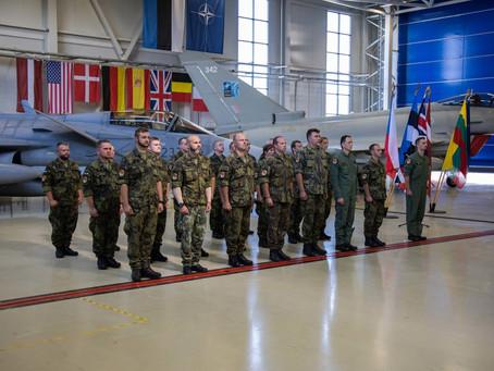 กองทัพอากาศอังกฤษเสร็จสิ้นภารกิจดูแลน่านฟ้าในเอสโตเนียแล้ว