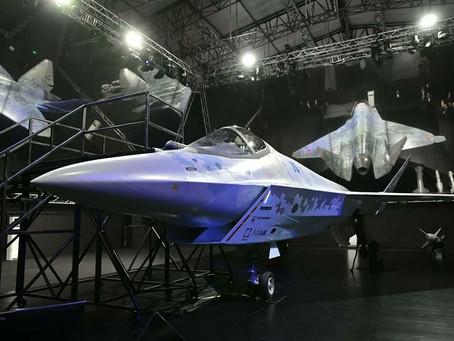 Checkmate รัสเซียเปิดตัว Su-75 เครื่องบินขับไล่ยุคที่ 5 แบบใหม่ ในงาน MAKS21