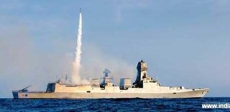 อินเดียประสพความสำเร็จในการทดสอบยิงBarak8