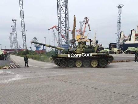 T-90S ของเวียดนามมาถึงแล้ว
