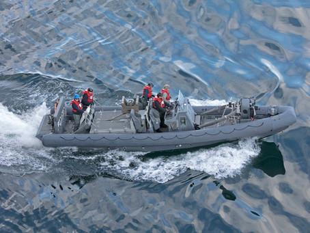 สหรัฐฯ บริจาคเรือยางท้องแข็งให้กองทัพเรือไทย มูลค่า 23 ล้านบาท
