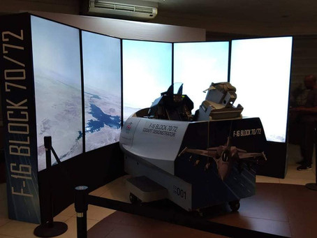 Lockheed Martin นำ F-16 Block 70/72 flight simulator ลุยให้ฟิลิปปินส์ลอง หวังกองทัพจัดหาเครื่องจริง