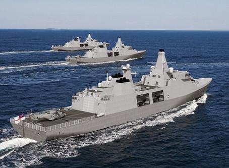 Arrowhead 140 หรือนี่จะเป็นเรือฟริเกตแบบใหม่ในอนาคตของกองทัพอังกฤษ?