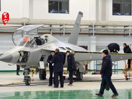 จีนมีการติดตั้งเรดาร์ให้เครื่องบินฝึกขับไล่