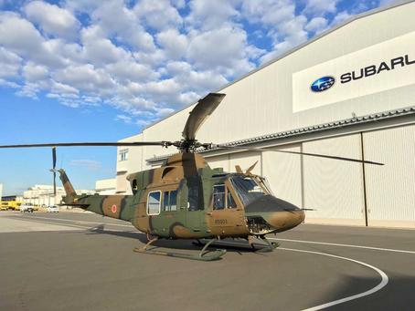 SUBARU Bell 412EPX เฮลิคอปเตอร์ม้างานหลักของกองกำลังป้องกันตนเองทางบกญี่ปุ่นในอนาคต