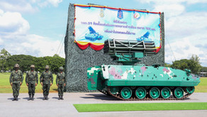 DTI ส่งมอบยานเกราะติดจรวดหลายลำกล้องขนาด 122 มม. ให้กองทัพบกทดสอบใช้งาน