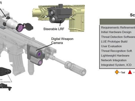 สหรัฐเตรียมพัฒนาปืนเล็กยาวและปืนกล ติดตั้งระบบ AI