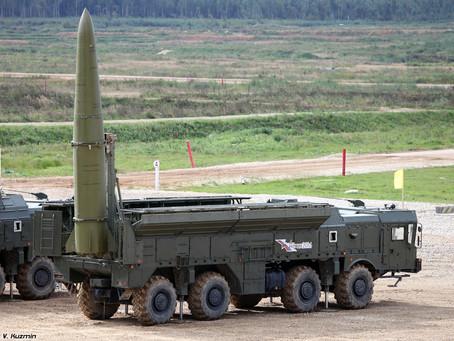 รัสเซียเตรียมนำขีปนาวุธระยะสั้น Iskander-M เข้าประจำการแบบเต็มรูปแบบ