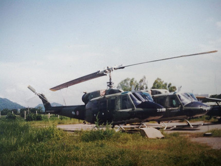 เฮลิคอปเตอร์ตระกูล Bell 214           หนึ่งในเฮลิคอปเตอร์ที่หลายคนไม่รู้ว่ากองทัพไทยเคยมี