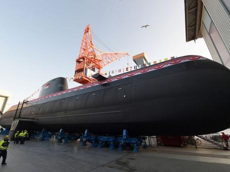 """เรือดำน้ำชั้น Type218SG """" RSS Invincible"""" เปิดตัวครั้งแรกที่เยอรมัน"""