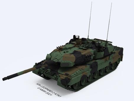 เยอรมันจัดซื้อระบบป้องกันรถถัง Trophy ติด Leopard 2