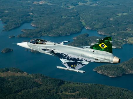 SAABประสบความสำเร็จในการทำการบินครั้งแรกของเครื่องบินรบ Gripen E ของกองทัพอากาศบราซิล