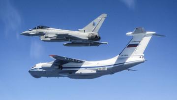 เครืองบินขับไล่ Typhoon ของอังกฤษขึ้นสกัดกั้นเครื่องบินของรัสเซียที่เอสโตเนีย