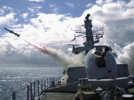 ราชนาวีอังกฤษเตรียมจัดหาอาวุธปล่อยนำวิถีใช้ทดแทน Harpoon ชั่วคราว