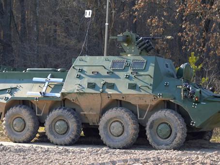 ยูเครนส่งมอบชุดเสริม BTR-3KSh ให้กองทัพบกไทย