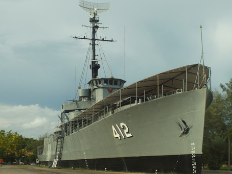 DEFNET Military Old Cam เอากล้องเก่าไปเรือหลวงประแส (ลำที่ 2)