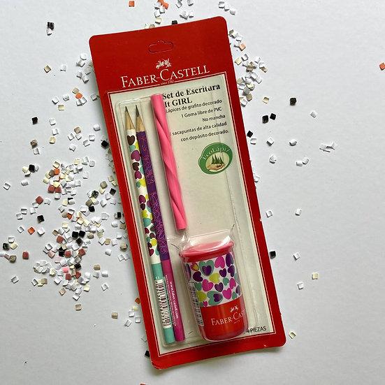 Faber Castell Set de Escritura It Girl