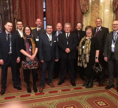 Committee Members and Corporate Partners Pick up GOLD Award from Safety Groups UK