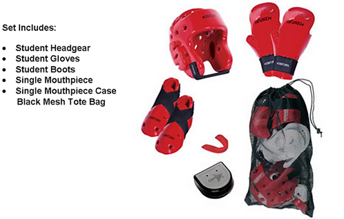 Sparring Gear Gift Set Combo